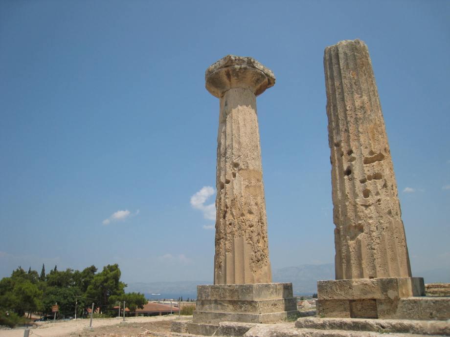 Apollo temple, Ancient Corinth | outosego .com