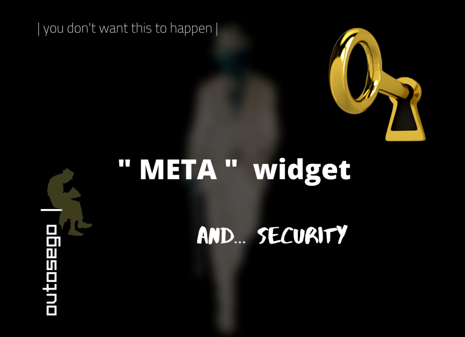 Meta Widget and Security