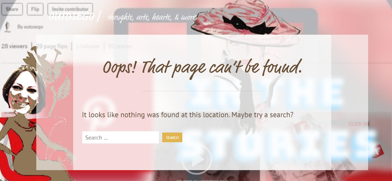 page can't be found