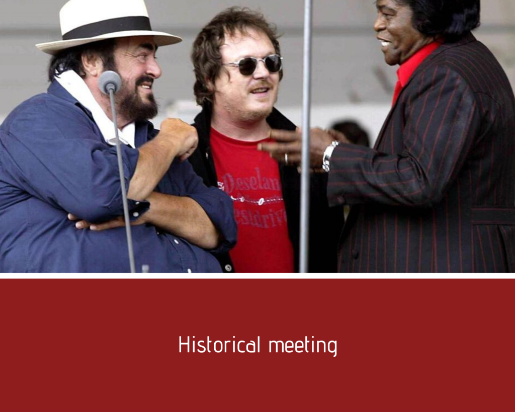 Historical meeting