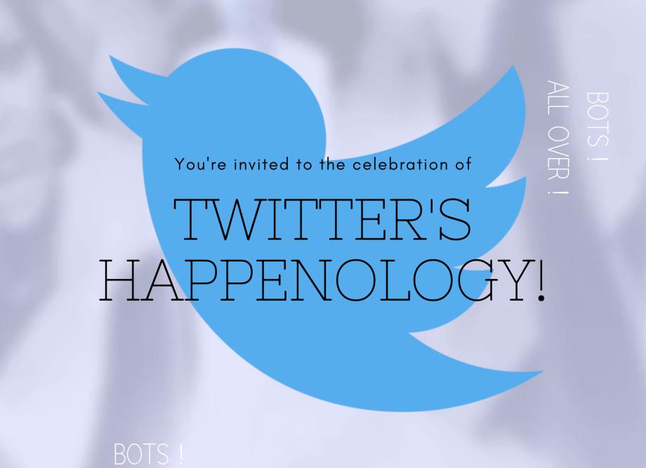twitter's happenology!