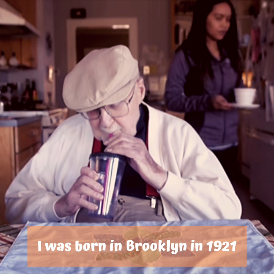 I was born in Brooklyn in 1921