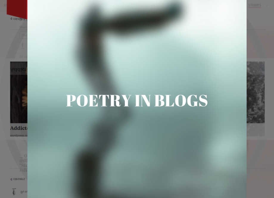Poetry in blogs
