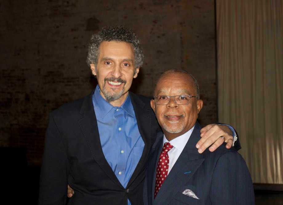 John Michael Turturro and Henry Louis Gates Jr.