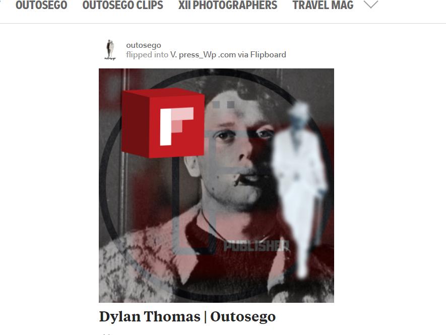 Flip : Dylan Thomas