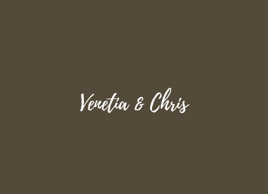 Venetia & Chris